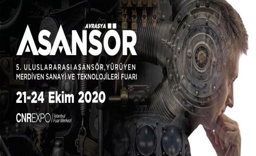 Avrasya Asansör Fuarı 2020'de 5'inci kez kapılarını açacak