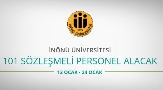 İnönü Üniversitesi 101 Personel alıyor