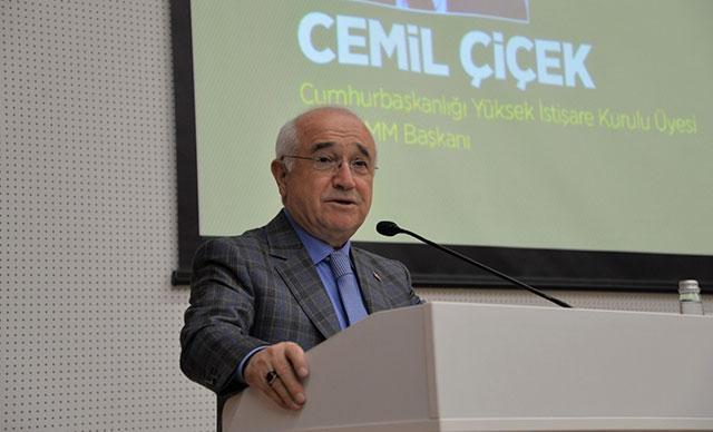 Cemil Çiçek: Yargı reformu eşittir insan reformudur