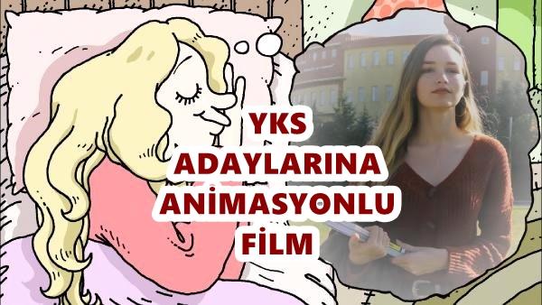 YKS adaylarına özel animasyon filmi