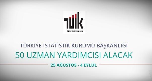 Türkiye İstatistik Kurumu 50 Uzman Yardımcısı alıyor