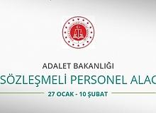 Adalet Bakanlığı 50 Sözleşmeli Personel alacak