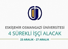 Osmangazi Üniversitesi 4 Sürekli İşçi Alacak