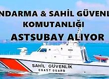 Jandarma ve Sahil Güvenlik Komutanlığı Astsubay Alıyor