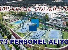 Pamukkale Üniversitesi 173 Sözleşmeli Personel alıyor