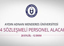 Aydın Adnan Menderes Üniversitesi 74 Personel Alıyor