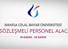 Manisa Celal Bayar Üniversitesi 46 personel alacak