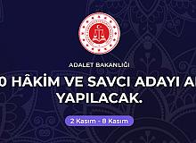 Adalet Bakanlığı 1000 Hakim ve Savcı alacak
